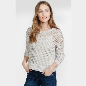 Express Open Knit Sweater
